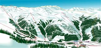Colorado Ski Resort Map by Ski Resort Directory Loveland Ski Resort Mountain Stats Trail