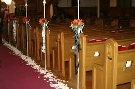 pew decorations for weddings demeeka s has tips for wedding may atmens wedding