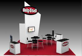 help u sell real estate booth rendering help u sell connect