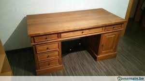 bureau teck massif bureau en teck massif a vendre 2ememain be