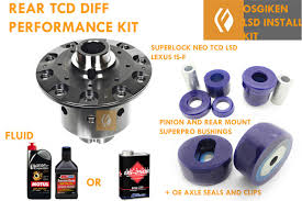 lexus sc300 rear differential giken tcd superlock lsd limited slip differential is f install kit