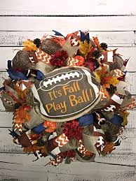 fall football wreath fall wreath fall wreath for front door