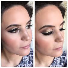 smoky eye wedding guest makeup