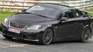 lexus convertible sports car 2014 lexus is f convertible spied testing autoweek tv with jake