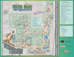 Map Of Tempe Arizona by Park Map Wildlife World