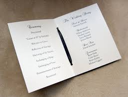 booklet wedding programs scrapping innovations meredith and joseph wedding booklets with
