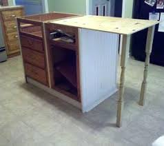 How To Install Kitchen Cabinets Diy How To Build A Portable Kitchen Island Using Base Cabinets