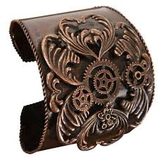 antique copper bracelet images Steampunk bracelet archives getting steampunked jpg