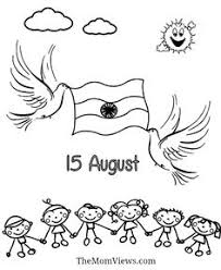 coloring pages of independence day of india india independence day charts pinterest india independence