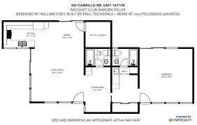 Parc Imperial Floor Plan Palm Springs Real Estate