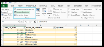 table tools design tab exchange copy import export data between excel and access