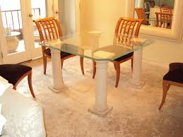 Glass Top Dining Room Table And Chairs by Stone Top Dining Table Expandable Dining Table With Marble Top