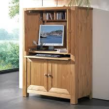 bureau ordinateur bois armoire informatique et bureau pour ordinateur modernes