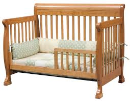 Baby Crib Convertible To Toddler Bed Davinci Kalani 4 In 1 Convertible Baby Crib In Oak W Toddler