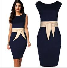plus size formal dresses navy dress with champagne belt sleeveless