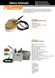 pac 61 airbrush kit