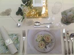 wedding table decor set vintage romantic auradecor