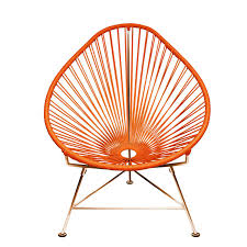 Orange Chair Acapulco Chair By Innit Yliving
