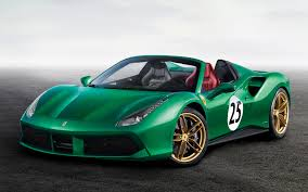 ferrari 488 wallpaper ferrari 488 spider the green jewel 2017 wallpapers and hd images
