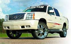 cadillac escalade mud flaps skyjacker suspension lift kit systems for 06 07 cadillac escalade