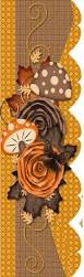 fall halloween images borders scrapbooking borders clusters fronters pinterest