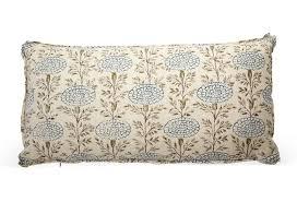 lisa fine textiles samode pillow indigo fabrics pillows