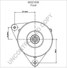 66021636 alternator product details prestolite leece neville