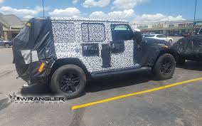 new jeep wrangler jl the 2019 jeep wrangler diesel is probably happening motor trend