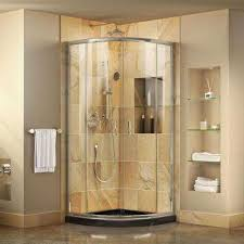 34 Shower Door Dreamline Bypass Sliding Corner Shower Doors Shower Doors