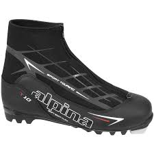 alpina t10 cross country ski boots buckmans com