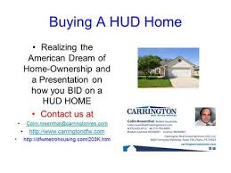 hud owned properties what is a hud home an fha insured home that