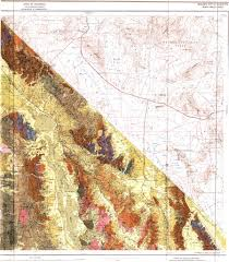 Map Of Death Valley Death Valley 1x2 Geologic Map Sheet Maplets
