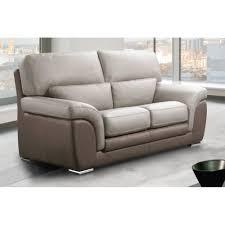 prix canape cuir canape cuir 2 places avec canap fixe confortable design au meilleur