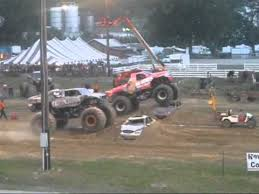 monster truck show in pa washington county pa monster trucks 2010 youtube