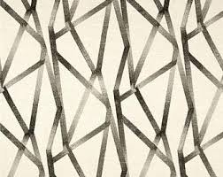 Keystone Upholstery Supplies Yellow Grey Geometric Upholstery Fabric Charcoal Grey White