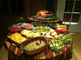 thanksgiving buffet table furniture accessories modern design of