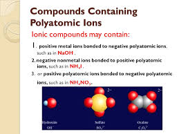 ionic compounds containing polyatomic ions worksheet 3 the best