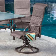 Sling Back Patio Dining Sets - patio furniture sling back chairs
