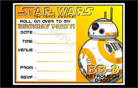 star wars birthday invitations u2013 gangcraft net