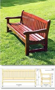 wood bench plans ideas lumber garden bench seat wood bench plans