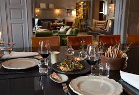 dining room in the ett hem boutique hotel stockholm sweden