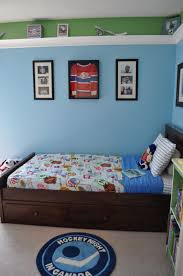 Cool Hockey Bedroom Ideas Kid Bedroom Engaging Ideas For Hockey Themed Boy Bedroom