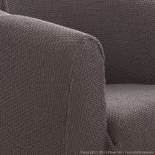 housse de canapé bi extensible housse de fauteuil cabriolet unie bi extensible coton