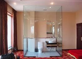 Glass Bathroom ATBREAKCOM - Glass bathroom