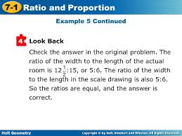 holt geometry 7 1 ratio and proportion 7 1 ratio and proportion