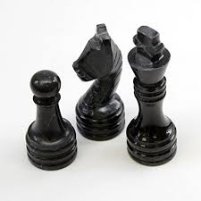 Unique Chess Set X 16 Inch Unique Hand Carved Black U0026 White Onyx Marble Chess Set