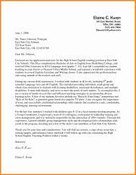 Letter Of Recommendation Teacher Template Sample Of Cover Letter For Teaching Position Choice Image Cover