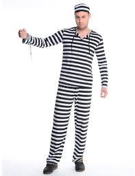 Black White Striped Halloween Costume Cheap Halloween Prison Aliexpress Alibaba Group