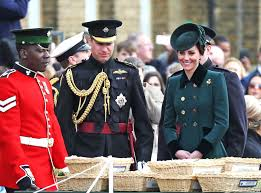 kate middleton s st s day for handing out
