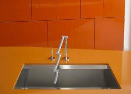 kohler karbon kitchen faucet kohler k 6227 c12 cp karbon articulating deck mount kitchen faucet